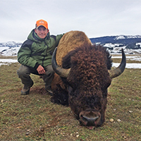 Wyoming buffalo outfitters double diamond tag 39 n drag for Wyoming game and fish draw results